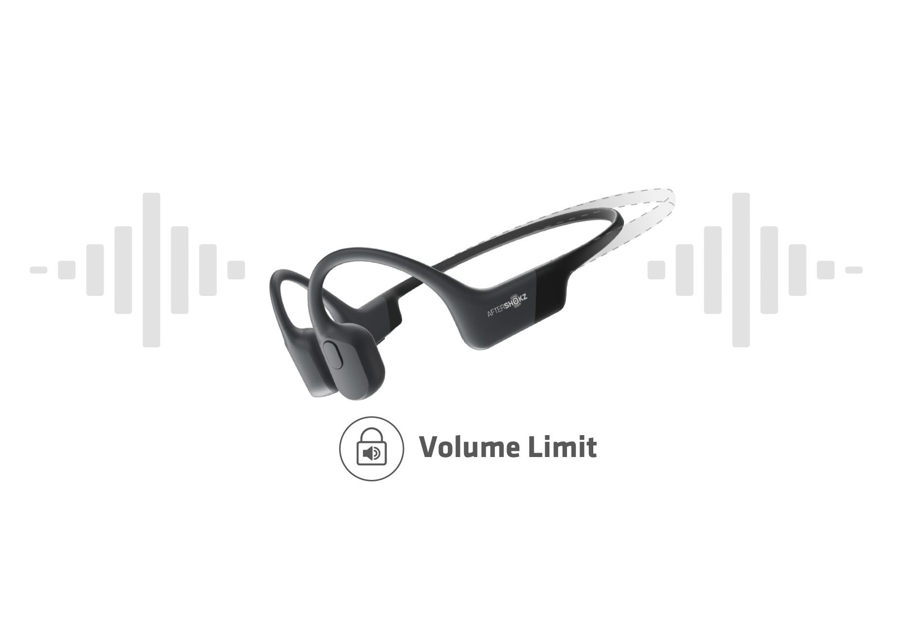 聴覚を保護する最大音量制限機能
