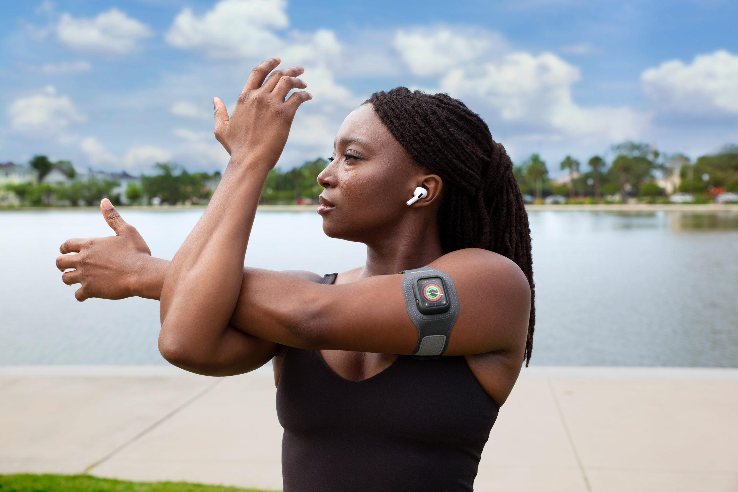 Apple Watchは手首だけではありません。